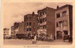 59: RARE Cpa BRAY DUNES  L'ESPLANADE Animé++  Edition Rare MAGE - Autres Communes