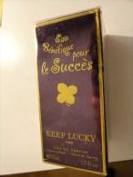 EAU BENEFIQUE POUR LE SUCCES KEEP LUCKY  PARIS  (50ML)  EAU DE PARFUM - Fragrances (new And Unused)
