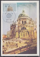 = Europa Basilique Salute à Venise Paris 8 Mai 1971 Carte Postale 1er Jour 1676 - 1971