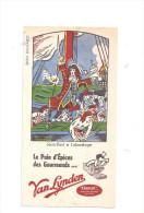 Buvard Le Pain D´Epices Des Gourmands VAN LYNDEN Jean Bart à L´abordage - Peperkoeken