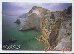 Ponza - Cala D'inferno - Lt - Formato Grande Viaggiata - D2 - Latina