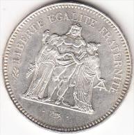 FRANCIA 1979 50 FRANCOS.NUEVA.PLATA 30 GR. SIN CIRCULAR VER FOTO .CN 1148 - France
