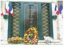 Paris, Extérieur Gare D' Austerlitz 11 Novembre, Le Monument Aux Morts Des Cheminots , Cpm D'après Photo Originale - Stations, Underground