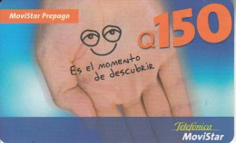 GUATEMALA - Telefonica Prepaid Card Q150, Used - Guatemala
