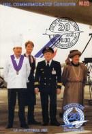 77- COULOMMIERS- 20è Anniversaire Du 1er Vol Commandant Du Concorde E.Chemel,M.Lauxerrois - Coulommiers