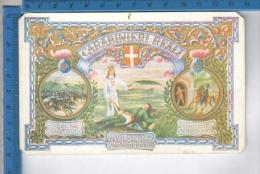 AB35600 MILITARI SOLDATI REGGIMENTI CARABINIERI REALI STEMMI CARICA DI PASTRENGO MORTE SCAPACCINO - Regiments