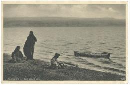 U.P.U. Post Card Palestine Israele _ Jerusalem - The Dead Sea - No Sent. - Israele