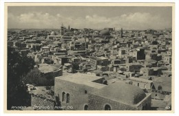 "U.P.U. - Post Card Palestine Israele - Jerusalem  ""Christianiti´s Holiest City""  No Sent. - Israele"