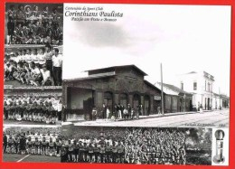 CPM Brasil - São Paulo Corinthians Paulista Soccer Football ( 2 Scans ) Brazil Brasil - Soccer