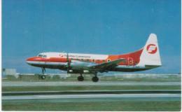 Thème -  Avion - Mary Jayne´s RS 530 - Frontier Comuter - Convair CV 580 -  Format 8.5*13.5  Cm - 1946-....: Moderne
