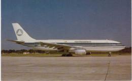 Thème -  Avion - Mary Jayne´s RS 576 - Northeastern International Airways - Airbus Industries A300  Format 8.5*13.5  Cm - 1946-....: Moderne