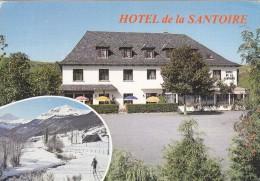 Cp , HÔTEL De La SANTOIRE , La Carrière , Ségur-les-Villas , Sur Les Monts Du Cantal - Restaurantes