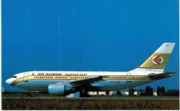 Thème -  Avion - Mary Jayne´s RS 950 - Air Algérie - Airbus A310 203  -  Format 8.5*13.5  Cm - 1946-....: Moderne