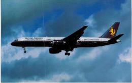 Thème -  Avion - Mary Jayne´s RS 959 - British Airways - Boeing 757 326  -  Format 8.5*13.5  Cm - 1946-....: Moderne