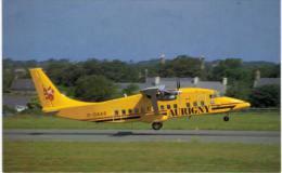 Thème -  Avion - Mary Jayne´s RS 1204 - Aurigny Air Services - Shorts SD 360 100 -  Format 8.5*13.5  Cm - 1946-....: Moderne