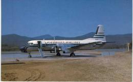 Thème -  Avion - Mary Jayne´s RS 1219 - Piedmont Airlines - YS 11A - Roanoke -  Format 8.5*13.5  Cm - 1946-....: Moderne