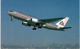 Thème -  Avion - Mary Jayne´s RS 1271 - American Airlines - Boeing B 767 223 ER -  Format 8.5*13.5  Cm - 1946-....: Moderne