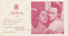 Film, Movie, Cinema Program - AIDA, SOPHIA LOREN, OLD EX YU MOVIE PROGRAM - Programma's