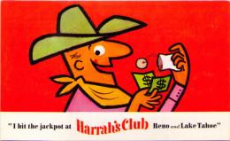 I Hit The Jackpot At Harrah's Club Reno And Lake Tahoe - Reno