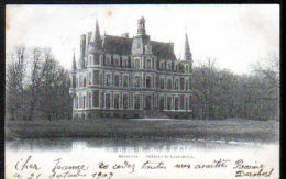 18 - NERONDES  - LE CHATEAU DE FONTENAY, FACADE NORD - CARTE A DOS SIMPLE - Nérondes