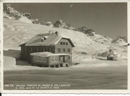 BL345 - OSPIZIO AL PASSO S. PELLEGRINO - BELLUNO - F.G. VIAGGIATA 1939 - Belluno