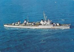 SPEZIA: BATTLESHIP ITALIAN NAVY DESTROYER SAN GIORGIO, D562,1941,ITALIA,POSTCARD COLLECTION,USED, - Warships