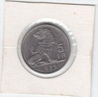 2 X 5 Francs Nickel Léopold III 1939 FL/FR Pos A Et B - 06. 5 Francs