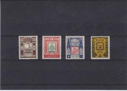 Armoiries - Sapins - Drapeaux - Châteaux - Estonie - Yvert 154 / 57 * - MH -  Valeur 26 Euros - Estonia