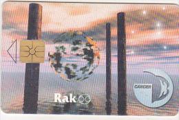 Czech Republic Old Chip Phonecard - 150 Kc - 05/98 - Zodiac - Cancer - Zodiac