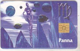 Czech Republic Old Chip Phonecard - 150 Kc - 08/98 - Zodiac - Virgo - Zodiaco