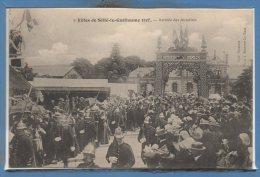 72 - SILLE Le GUILLAUME --  Fêtes 1908 - Arrivée Des Autorités - N° 2 - Sille Le Guillaume