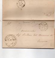 1901 LETTERA CON ANNULLO GRANDE ORNANO  TERAMO - 1900-44 Vittorio Emanuele III