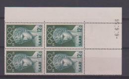 SARRE // Coin Daté  //  12 F+ 3 F   //  //   6 / 06 /1956  //  Neuf** - Saar