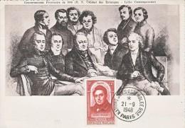 Carte-Maximum FRANCE N°Yvert 796 / Gouvernement Provisoire De 1848 - Maximum Cards