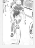Patrick SERCU. 2 Scans. Fiat - Cyclisme