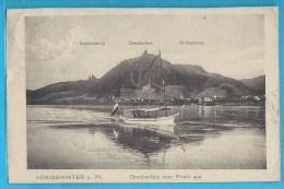 C.P.A. Konigswinter Am Rhein - Petit Bateau Touristique... - Koenigswinter