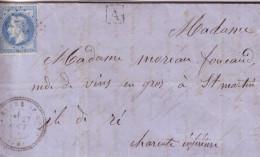 VENDEE.  79  LA BARRE- DE- MONT. MP 79-1 - 1849-1876: Classic Period