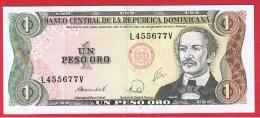 REPUBLIQUE DOMINICAINE //  1 PESO ORO  //  ETAT  SUP - Dominicana