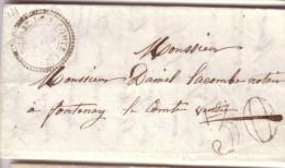 VENDEE.  79  LA CHAIZE-LE-VICOMTE. MP 79-4 - 1849-1876: Classic Period