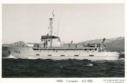 ( CP SM PF BATEAU DE GUERRE )  ARIEL  /  Transport - 4-2-1983  - - Warships