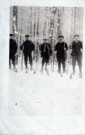 SKIEURS   CARTE PHOTO - Winter Sports