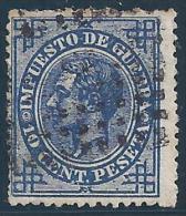 ESPAÑA 1876 - Edifil #184a - VFU - Usados
