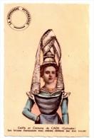 CPA Coiffe Et Costume De CAEN - Costumes