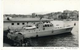 ( CP SM PF VEDETTE )  LISSERO  /  Vedette  -  15-7-1967  - - Barche
