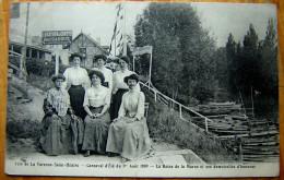 Cpa SAINT MAUR 94 LA VARENNE SAINT HILAIRE - Carnaval D' été 1909 - La Reine De La Marne Et Ses Demoiselles D'honneur - Saint Maur Des Fosses