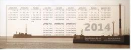 Le Havre : L´entrée Du Port (calendrier 2014 Radio Albatros 21X8) Photo Ronsma - Unclassified