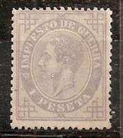 ESPAÑA 1876 - Edifil # 186* - Precio Cat. €635 - 1875-1882 Royaume: Alphonse XII