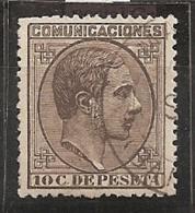 ESPAÑA 1878 - Edifil #192a - MLH * - Usados