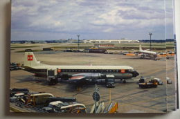 VANGUARD   BEA   G APEA  HEATHROW AIRPORT - 1946-....: Era Moderna