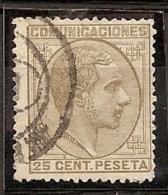 ESPAÑA 1878 - Edifil #194 - VFU - Usados